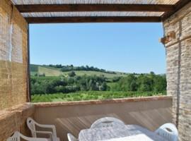 Panorama dall'Agriturismo La Curtis, alloggi verdi