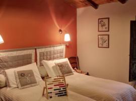 Camera da letto matrimoniale, La Prugnola, alloggi verdi