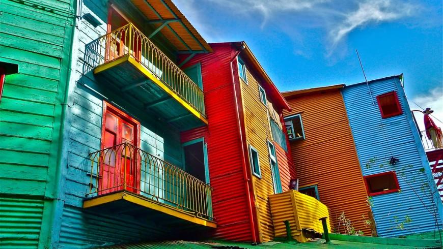 La Boca, Buenos Aires, mete a colori, foto via flickr