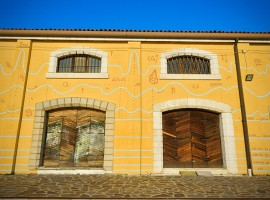 Murales a Venezia, Canal Grande, foto via Pinterest