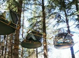 Tree Sleeping nel Parco delle Madonie
