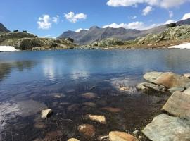 Lago raggiungibile dal Rifugio Sogno