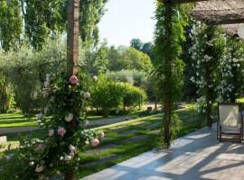 Il parco con le rose di Casacocò