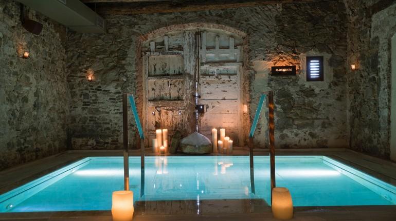Fuga benessere in Spagna, in un ecoresort con bagni termali romani