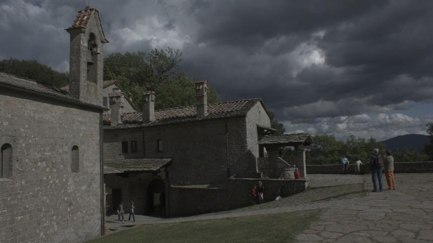 La Verna, Santuario lungo il cammino a piedi 400 km d'Appennino