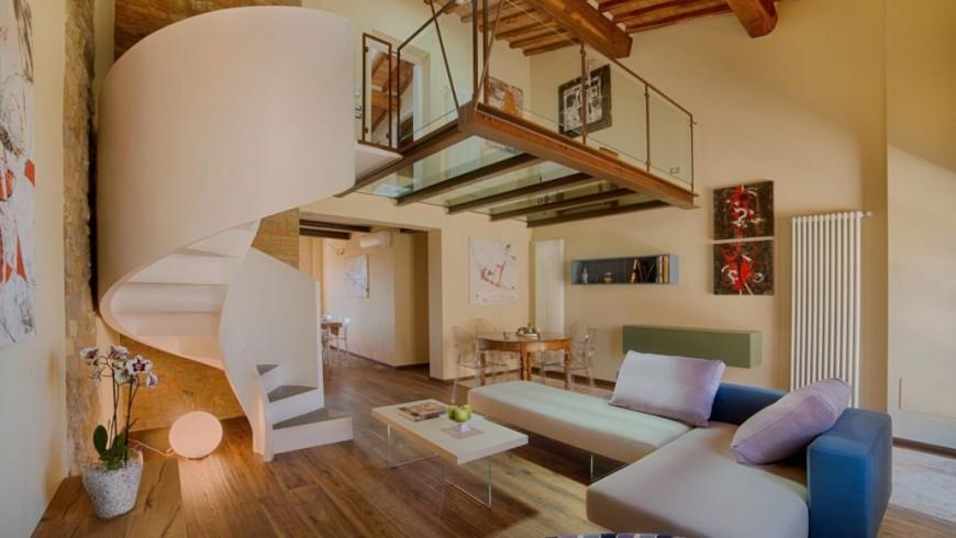 Bed&breakfast ecologico con architettura moderna e di design immersa nel Chianti