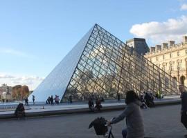 Marzia in Bicicletta a Parigi