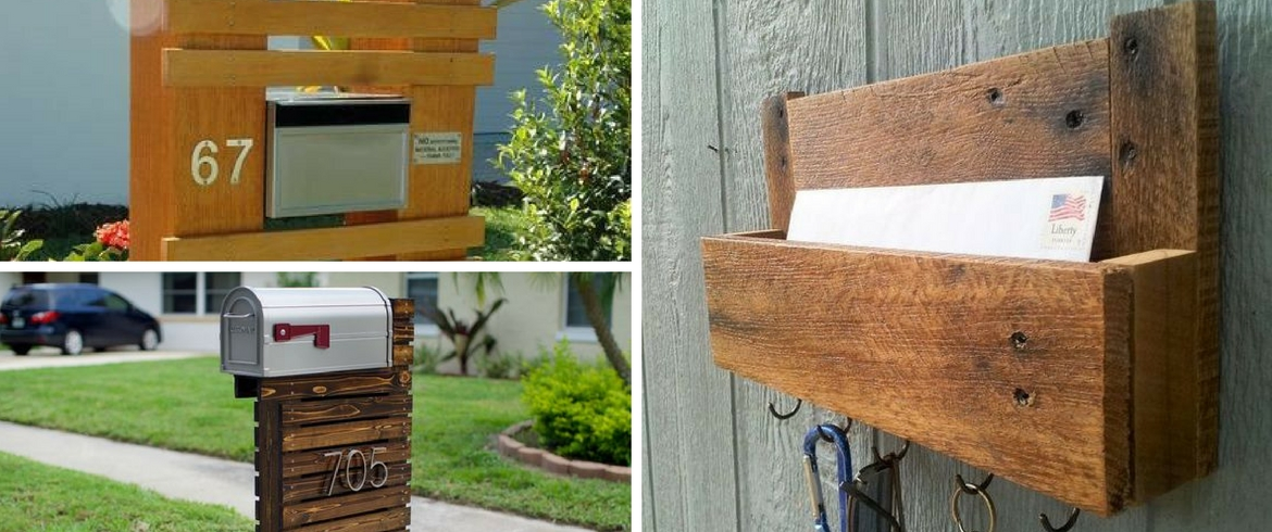Mailboxes, pallets, creative, box