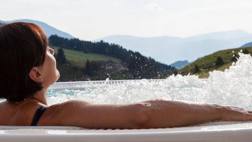 Una vacanza benessere ad alta quota in Alto Adige