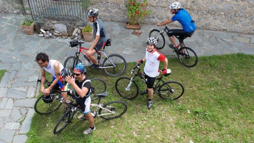 Itinerario in mountain bike mountain bike partendo dall'agriturismo Il Querceto