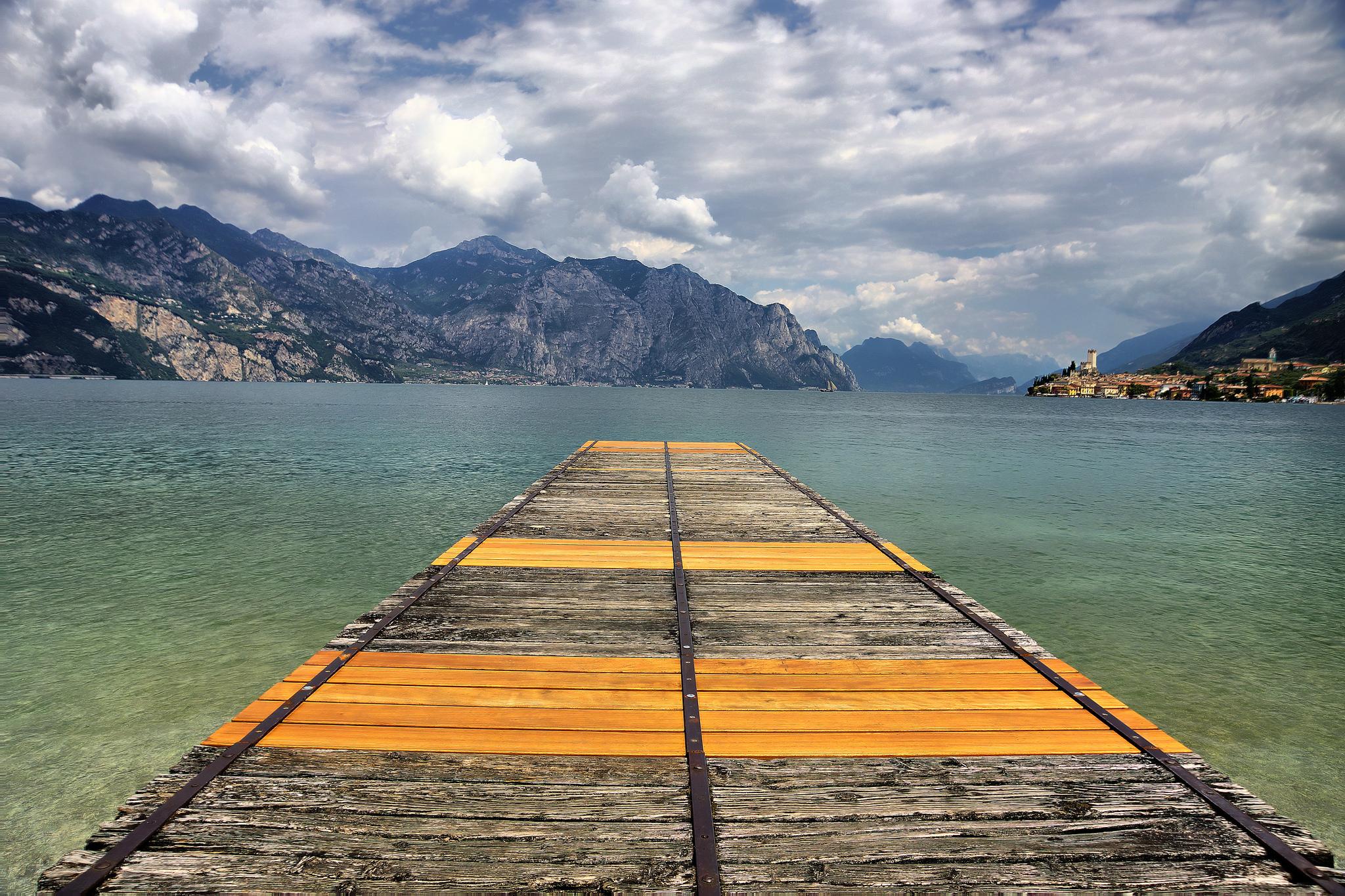 Malcesine e lago di Garda