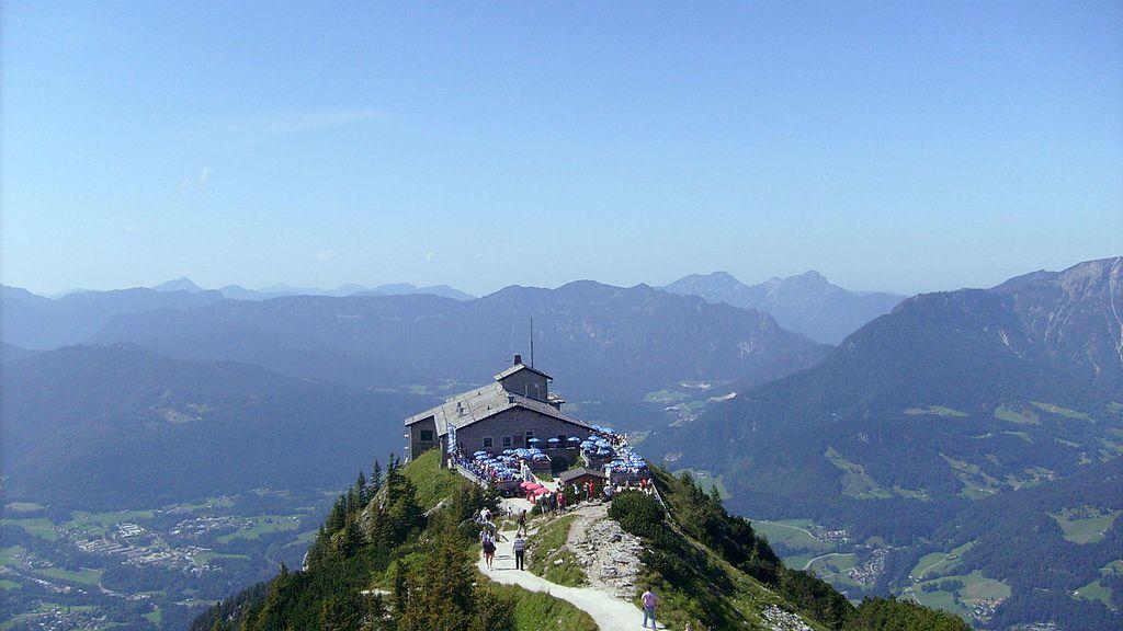"""Berchtesgaden, """"Nido dell'Aquila"""" di Hitler, storico belvedere sull'Obersalzberg, foto di Sandor Bordas."""