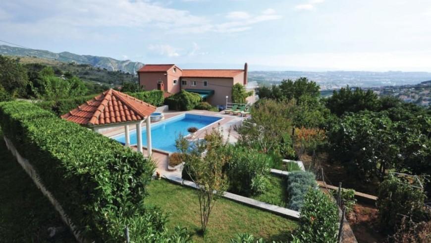 La piscina di Villa Klara, Croazia
