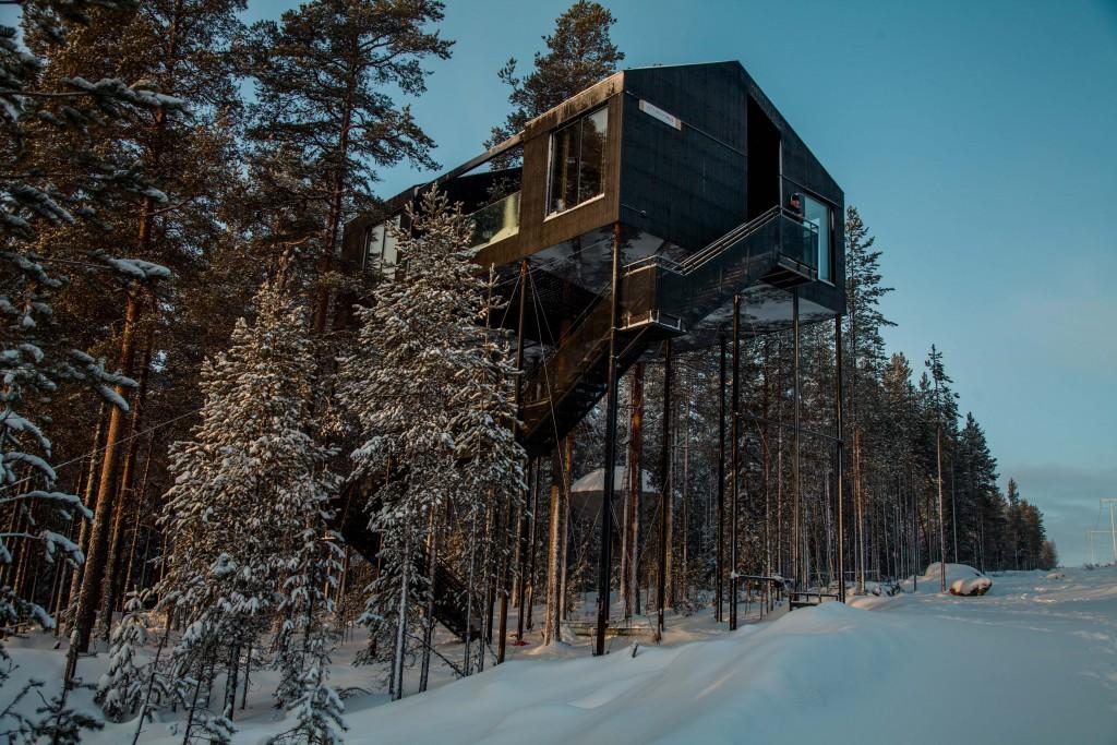 7th Room, casa sull'albero ecosostenibile (via snohetta.com)