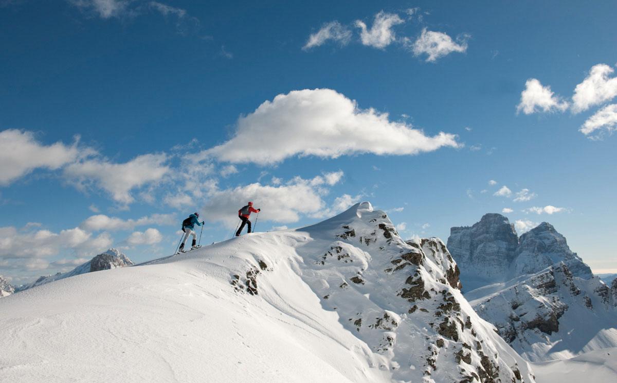 Berchtesgaden, montagna innevata