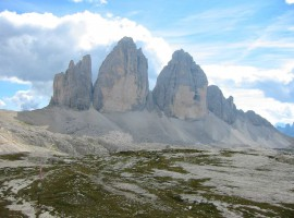 Pale di San Martino, foto via Wikipedia