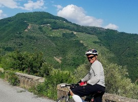 Itinerario in mountain biketra le colline di Bordighera