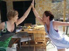 yoga ad Agrilunassa, tra le colline di Bordighera