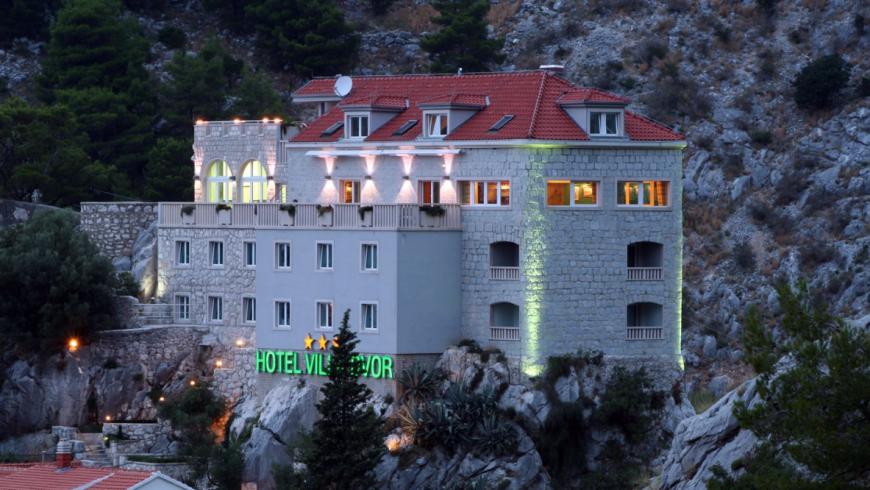 Villa Dvor, hotel eco-friendly in Croazia