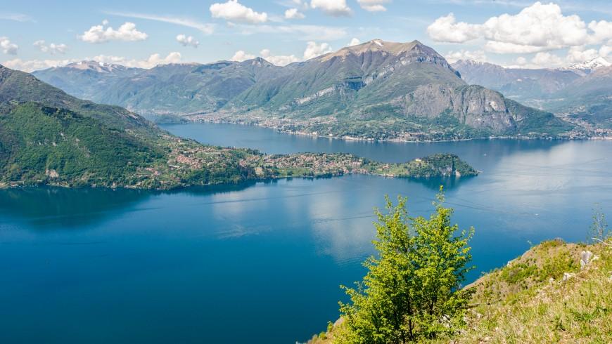 Lago di Como, sito vicino all'agriturismo Al Marnich