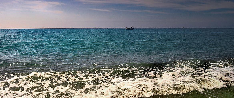 Il mare di Bordighera, Liguria