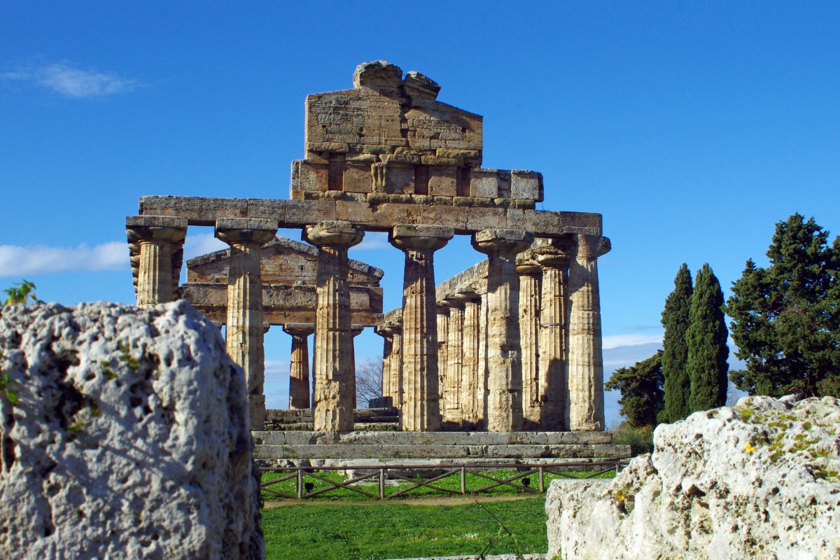 Paestum, Goddess Athena's Temple