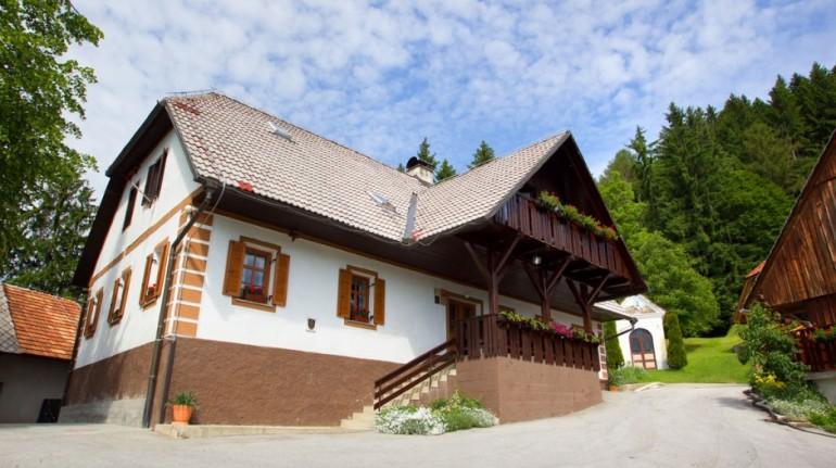 Una fattoria e i sapori della Slovenia