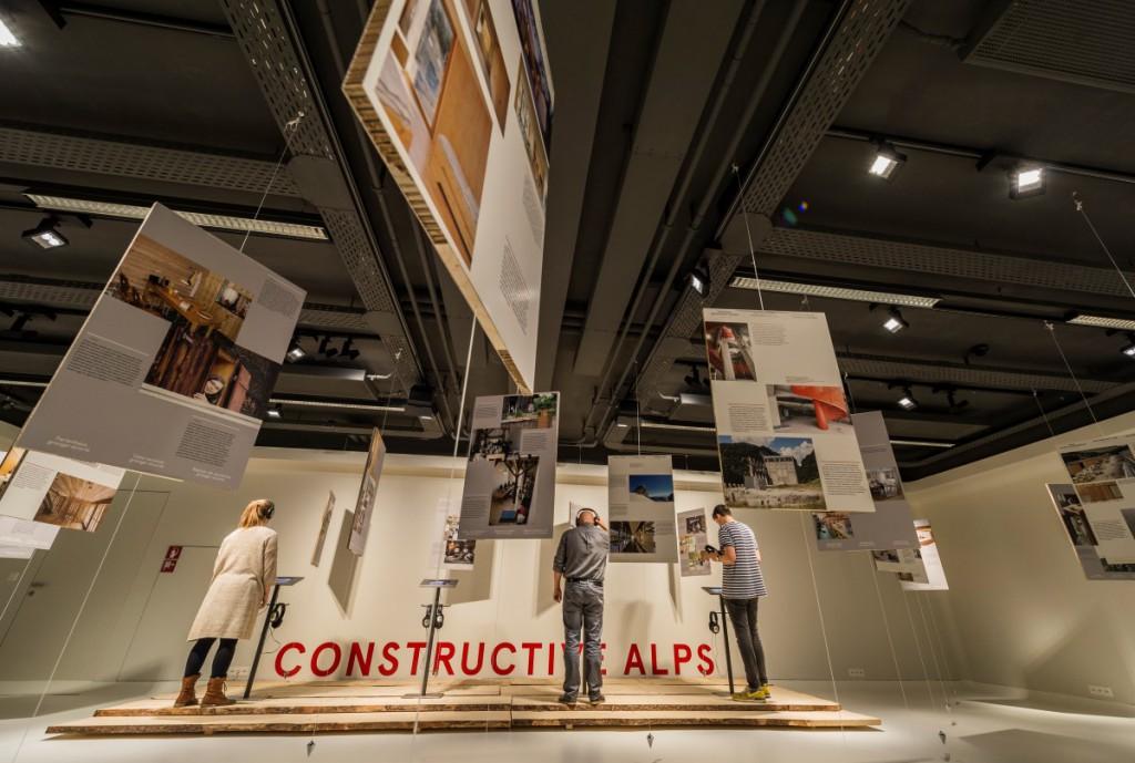 Mostra Alpi Costruttive, architettura