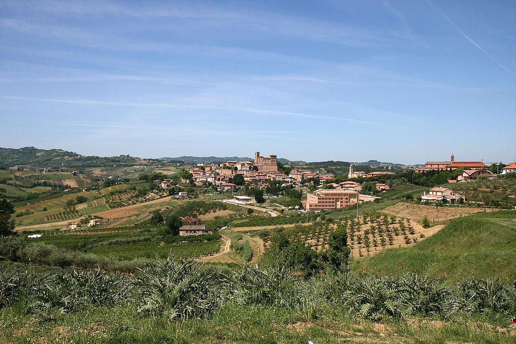 Longiano, nel comune di Sogliano al Rubicone, dove viene prodotto il formaggio di fossa