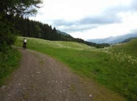 Itinerario in e-bike attorno al lago di Weissensee, Carinzia, Austria