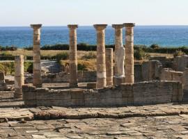 Rovina romana a Tarifa, Cadice, Spagna