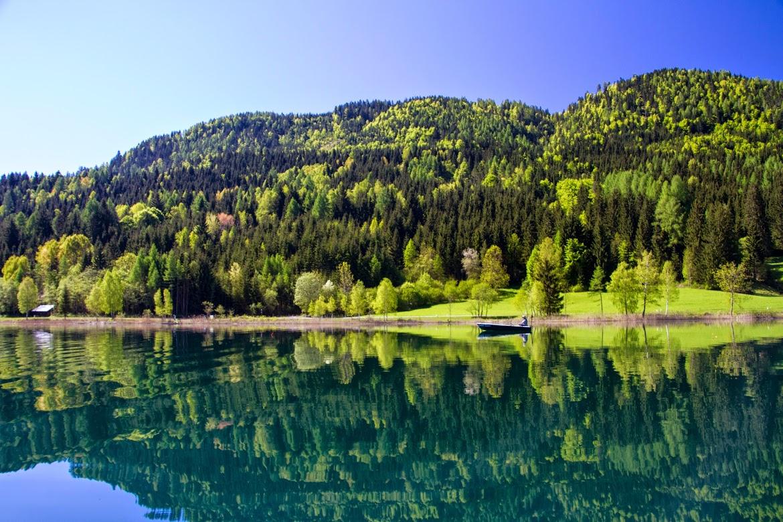 Weissensee, le mille sfumature del lago piu bello della Carinzia