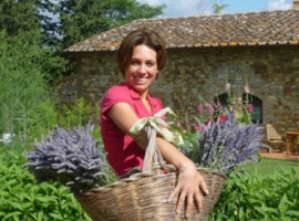 proprietaria del B&B eco-friendlyy tra le colline del Chianti