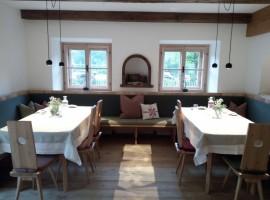 Biohotel Gralhof, ristorante della fattoria biologica a Weissensee