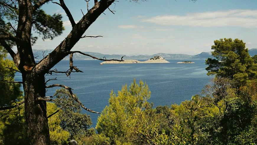 Croacia Mljet islas