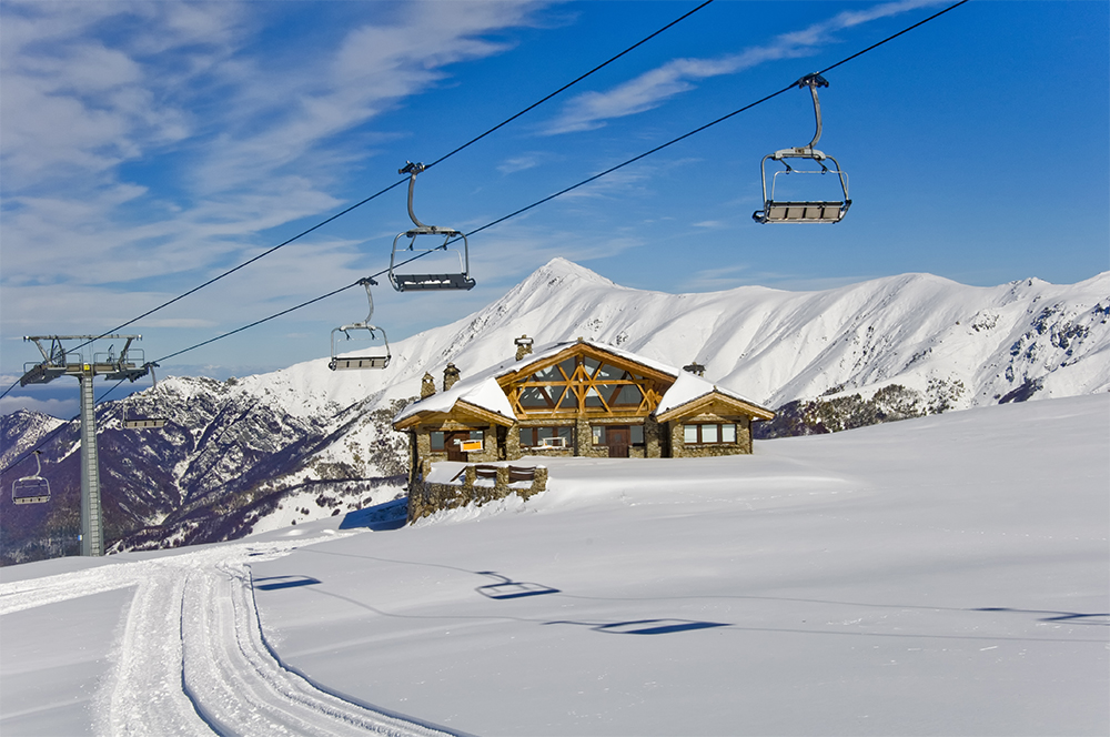 Skiing in Limone Piemonte