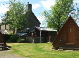 Eco-glamping Mains Farm Wigwams