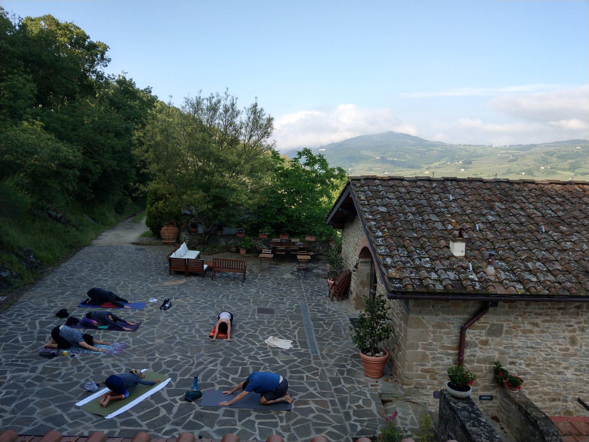 Ritiro Yoga a La Fontaccia, agriturismo eco-sostenibile tra le colline di Firenze