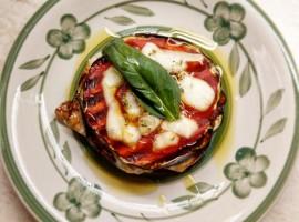 Piatto tipico a La Fontaccia, agriturismo eco-sostenibile tra le colline di Firenze