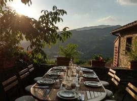 Pranzo a La Fontaccia, agriturismo eco-sostenibile tra le colline di Firenze