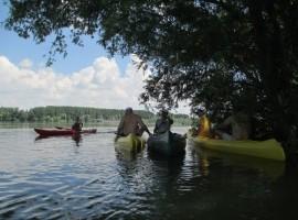 Un giorno in canoa lungo il Danubio in Serbia