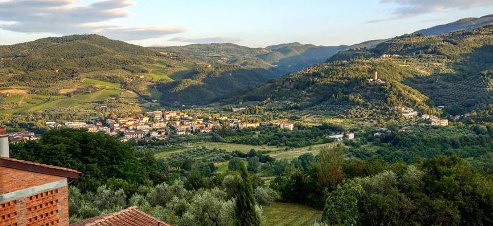 Tra le colline della Val di Sieve, Toscana