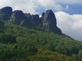 Sulla cima del monte Stara Planina, Serbia