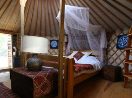 Portugal Yurt Retreat eco-glamping