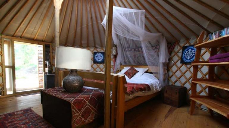 Portugal Yurt Retreat eco-glamping