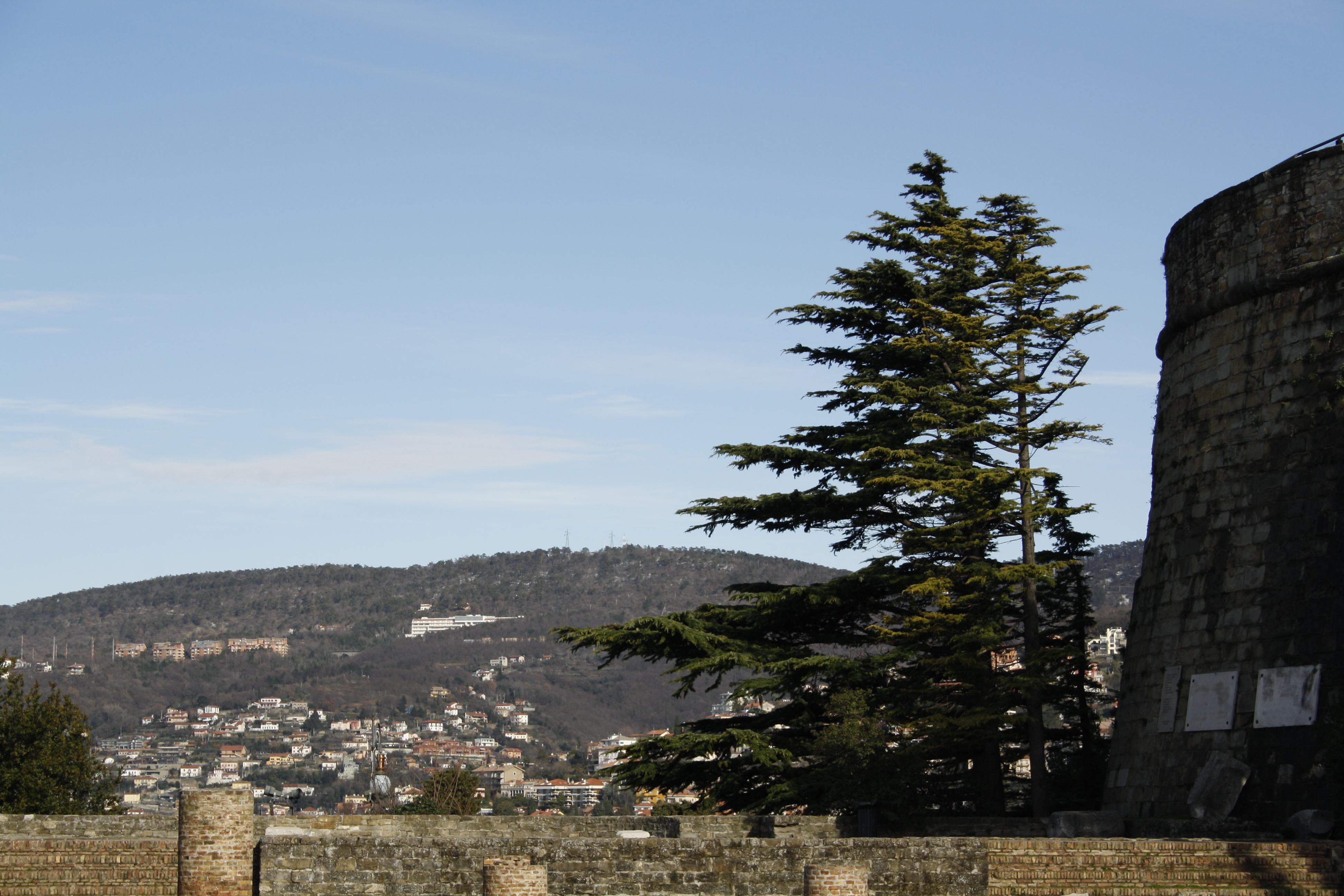 Trekking urbano al Colle San Giusto, Trieste, sulle tracce della bora