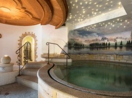 Area wellness dell'Hotel Monzoni