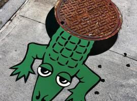 La street art di Tom Bob, che migliora le nostre città. Foto via Picamemag
