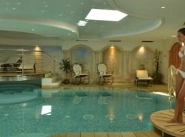 L'area wellness dell'Hotel Alle Alpi Beauty e Relax
