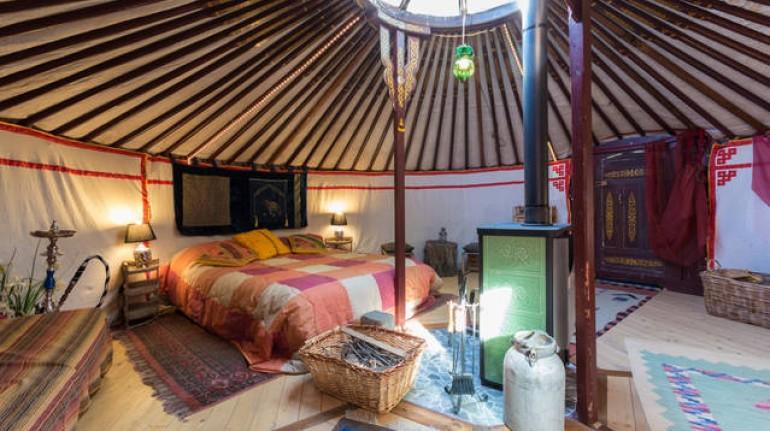 Digital detox a Yurta Soul Shelter